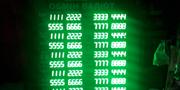 табло обиена валют (20 валют)